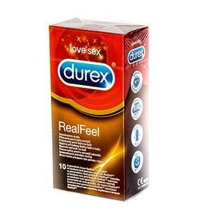 Durex Real Feel prezervatív 1x10 ks