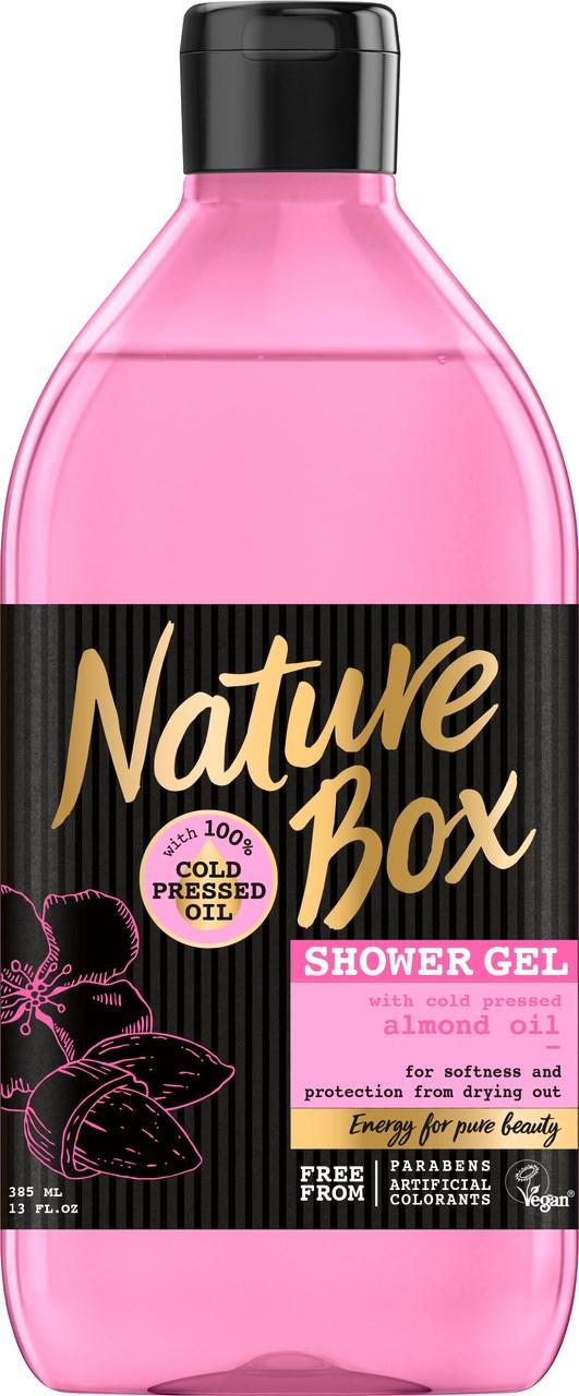 Nature box Mandľa sprchový gél 1x385 ml
