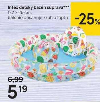 Intex detský bazén súprava***