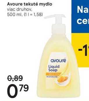 Avoure tekuté mydlo, 500 ml
