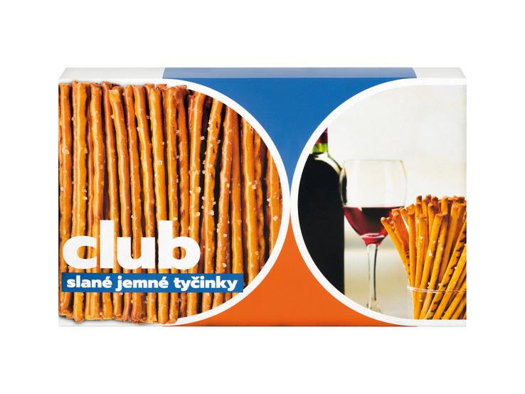 Slané tyčinky Club