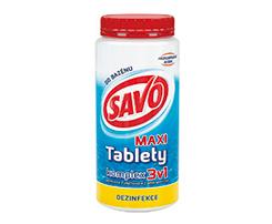 Savo Maxi Komplex 3v1 dezinfekčné tablety do bazénu 7 x 200g