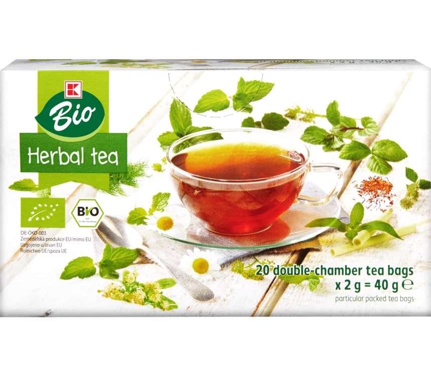 Bylinný ovocný čaj