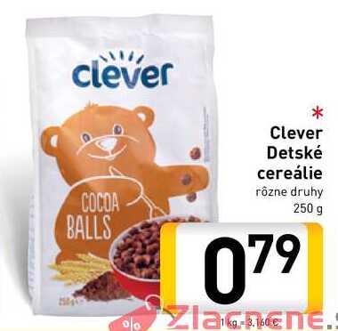Clever Detské cereálie 250 g