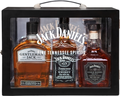 Jack Daniel's Family Box 3x0,70 L