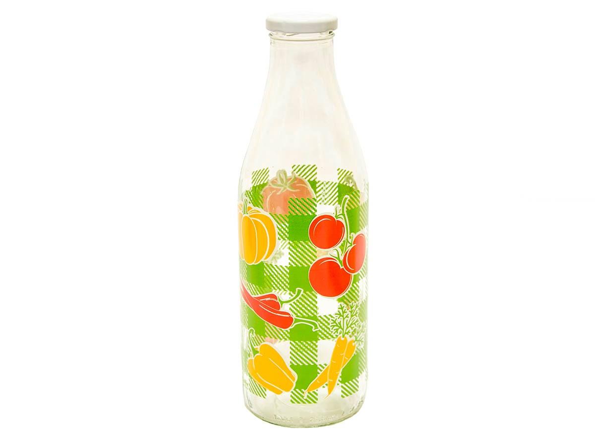 Fľaša s uzáverom ovocie 1l 1ks