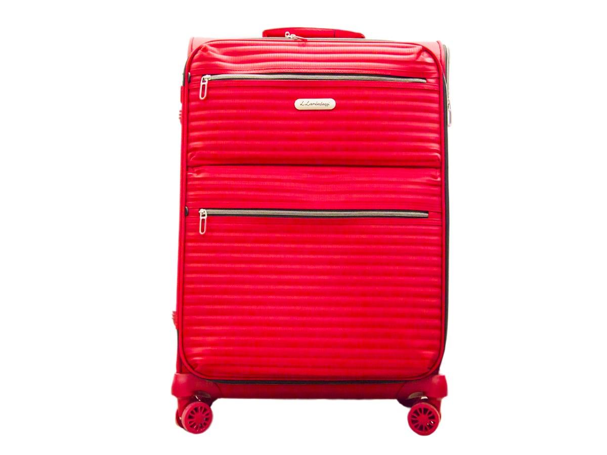 Batožina Adrian 66cm červená Lambertazzi 1 ks