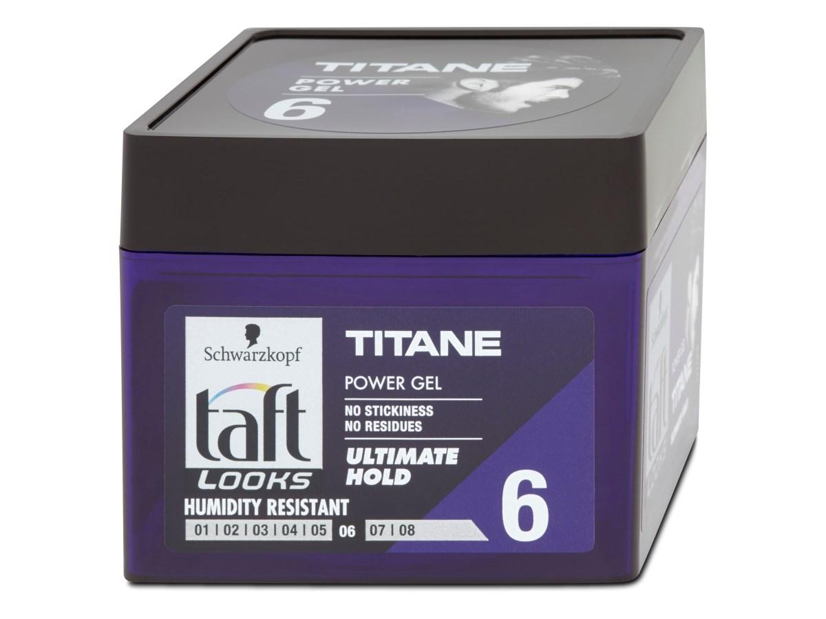 Taft looks gél titan look 1x250 ml