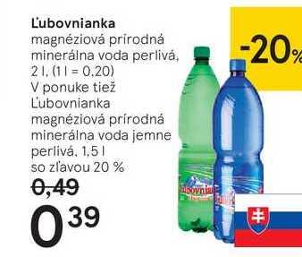 Ľubovnianka, 2 l
