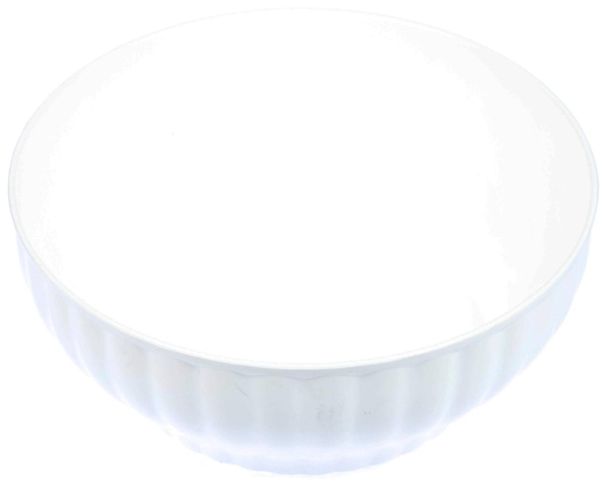 Misa zarábacia plastová 26cm biela 1ks