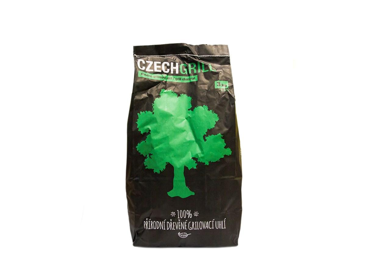 Uhlie drevené Czechgrill 3kg