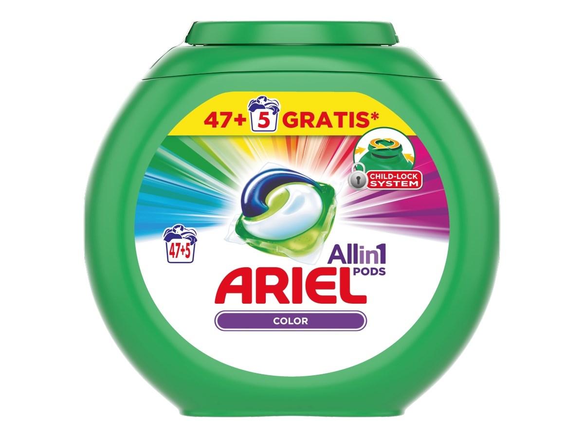 Ariel Color gélové kapsuly 47+5 praní 1x1ks