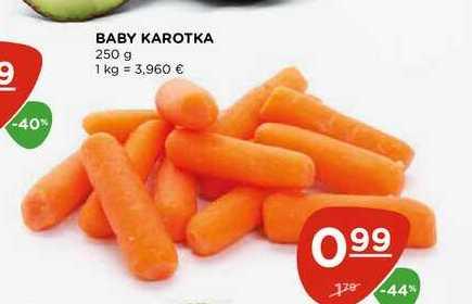 BABY KAROTKA 250 g