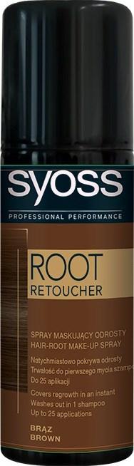 Syoss Root Retoucher hnedý 1x120 ml