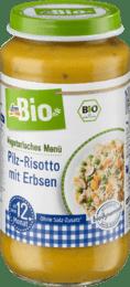 Zeleninový príkrm hubové rizoto s hráškom, 250 g