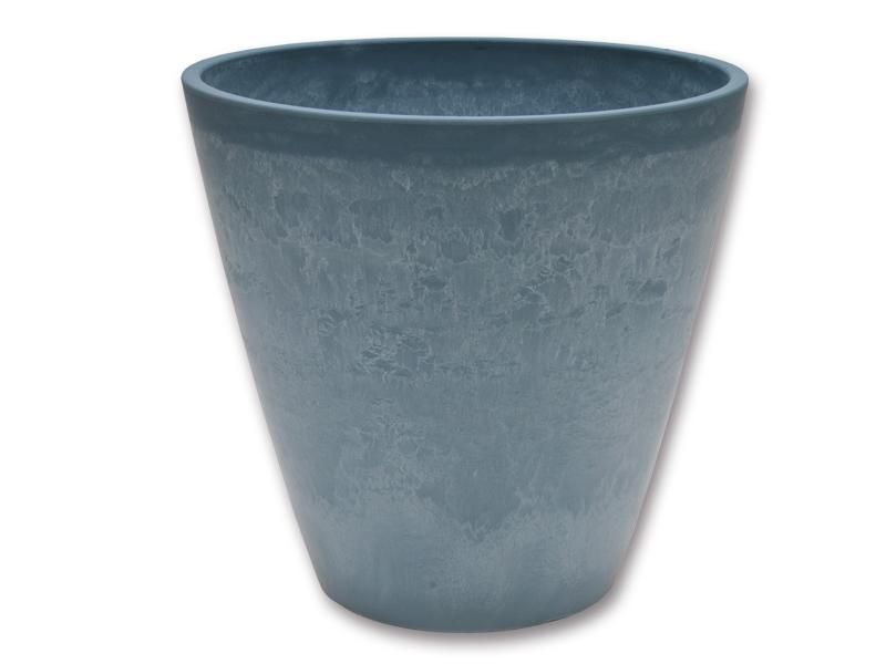 Kvetináč Myrtha Ø 33cm, blue stone