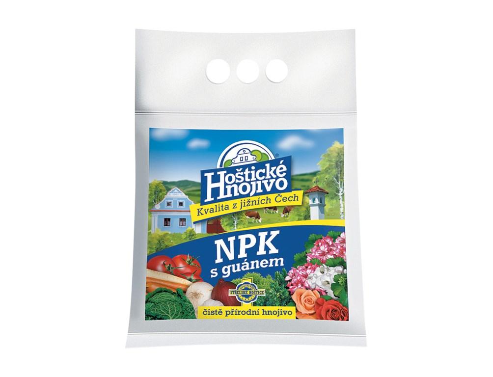 Hnojivo NPK s guanom 2,5 kg Hoštické 1ks