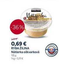 RYBA ŽILINA Nátierka oškvarková, 135 g