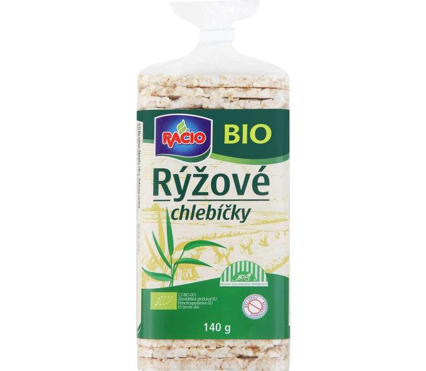 Chlebíčky ryžové Bio