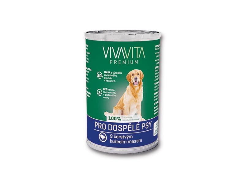 VIVAVITA konzerva kúsky kuracie 415g