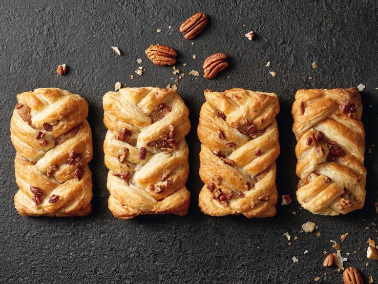 Javorová taštička s pekanovými orechami