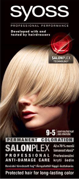 Syoss color ľadová perla blond 9 - 5 farba na vlasy 1x1 ks