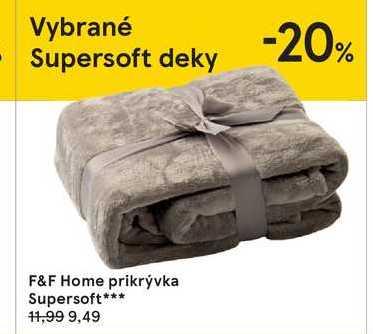 F&F Home prikrývka Supersoft