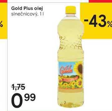 Gold Plus olej, 1 l