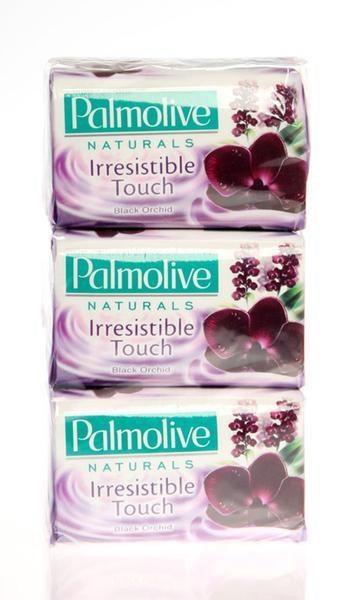 Palmolive Orchid Black toaletné mydlo 6x90 g