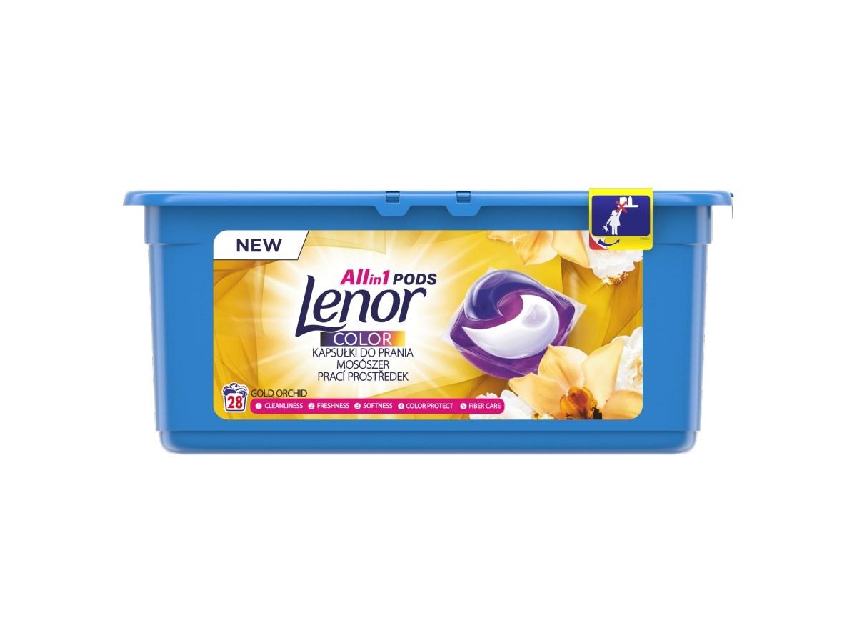 Lenor Gold Orchid gélové tablety 1x28 ks