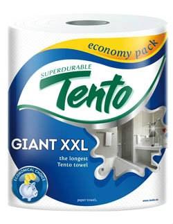 Tento kuchynské utierky Giant XXL 75m 1x1ks