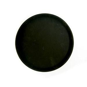 Podnos polyform okrúhly 28cm čierny 1ks