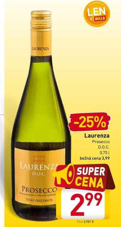 Laurenza Prosecco  0,75 l