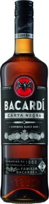 Bacardi Carta Negra 40% 0,70 L