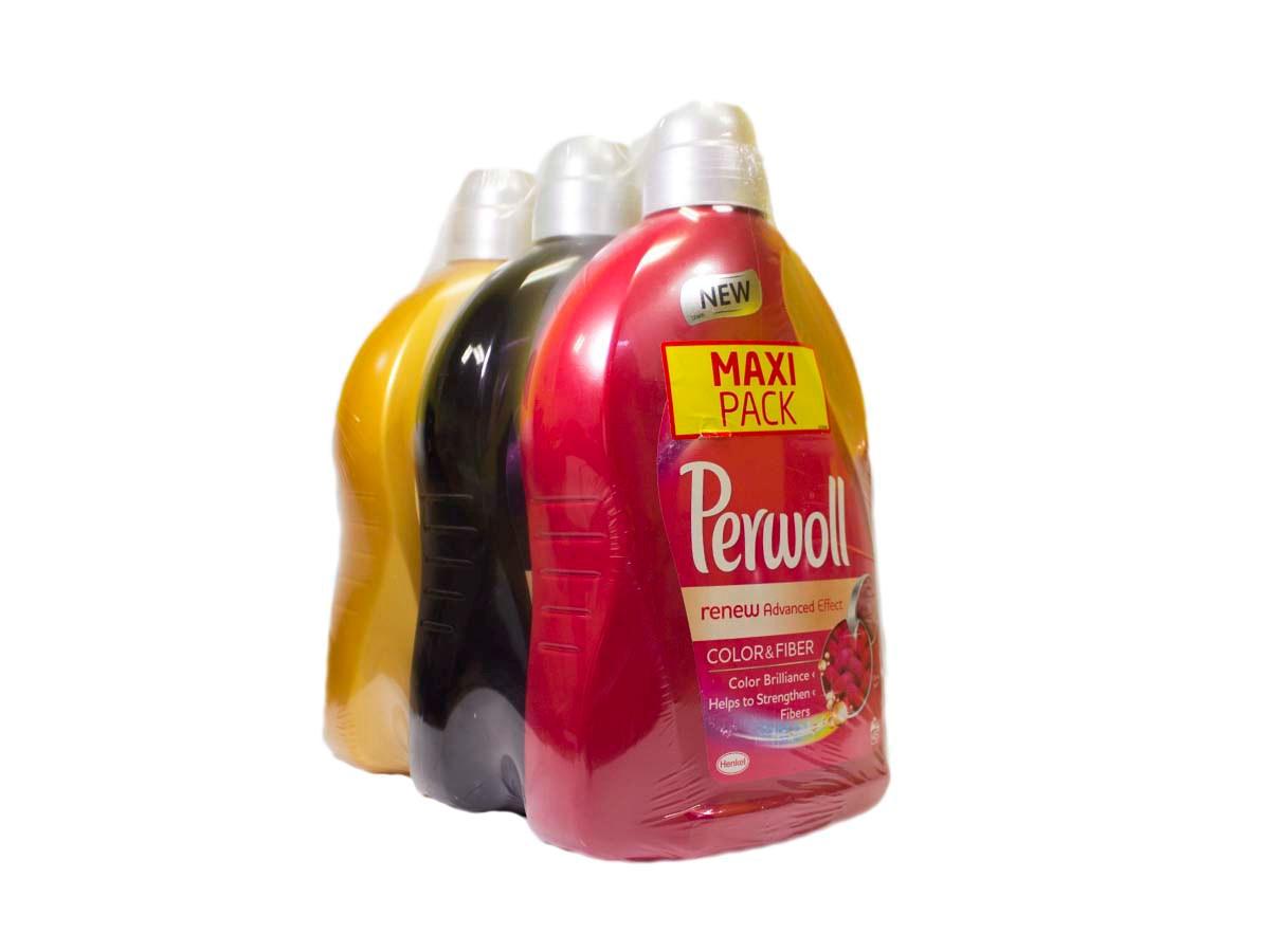 Perwoll Mix 45 praní prací gél 1x3 ks