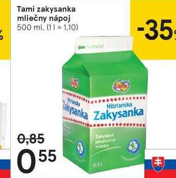 Tami zakysanka mliečny nápoj, 500 ml