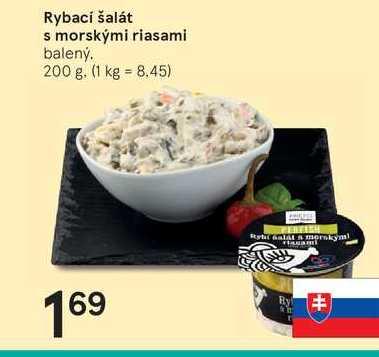 Rybací šalát s morskými riasami, 200 g