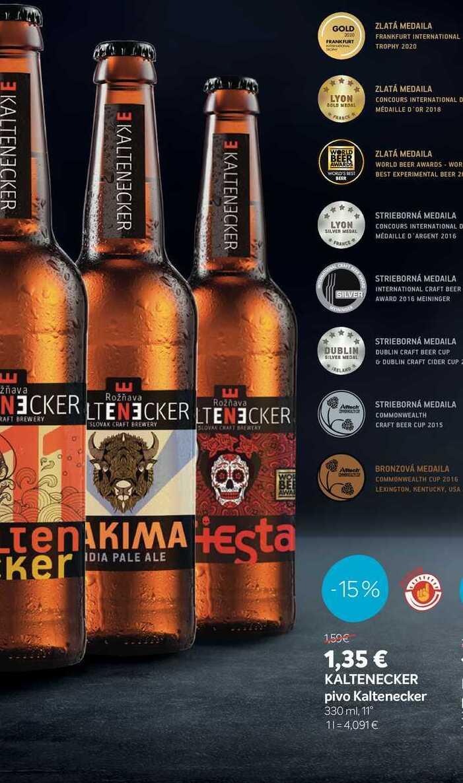 KALTENECKER pivo Kaltenecker 330 ml. 11°