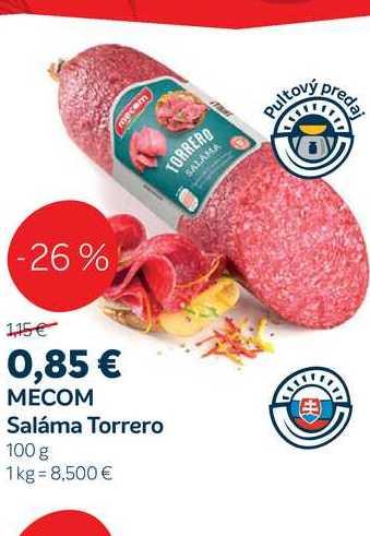 MECOM Saláma Torrero, 100 g