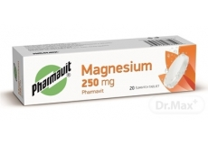 MAGNESIUM 250 mg PHARMAVIT
