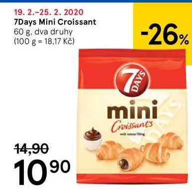 7 Days Mini Croissant, 60 g
