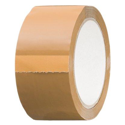 LUX Baliaca páska hnedá 66 m x 50 mm