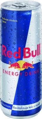 Red Bull 0,25 L plech