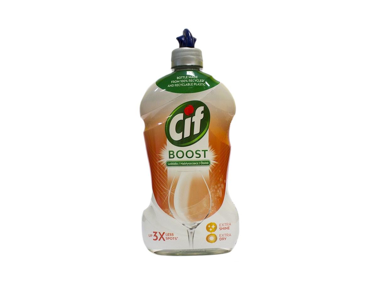 Cif Boost leštidlo do umývačky riadu 1x450 ml