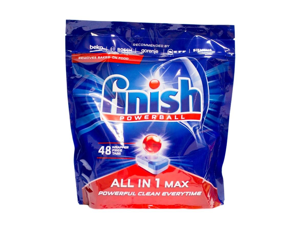 Finish Powerball All in 1 Max tablety do umývačky riadu 48ks 1x1 ks