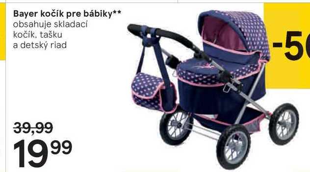 """Bayer kočík pre bábiky"""""""