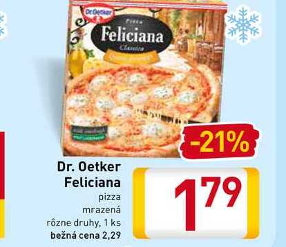 Dr. Oetker Feliciana  pizza 1 ks