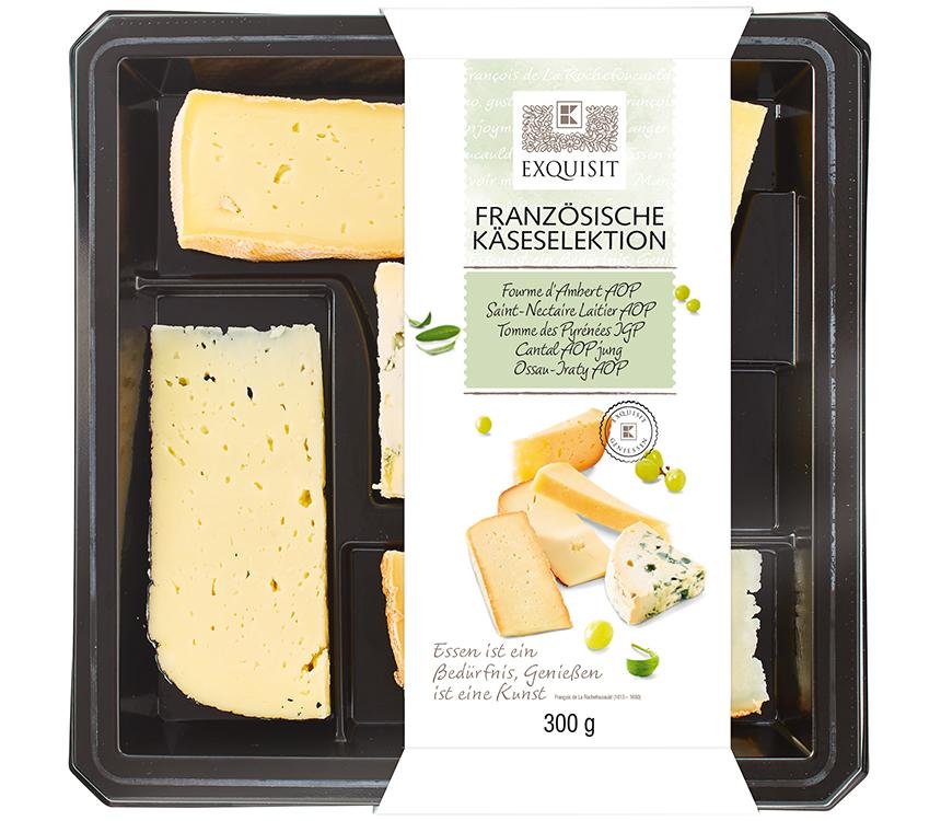 Výber francúzskych syrov