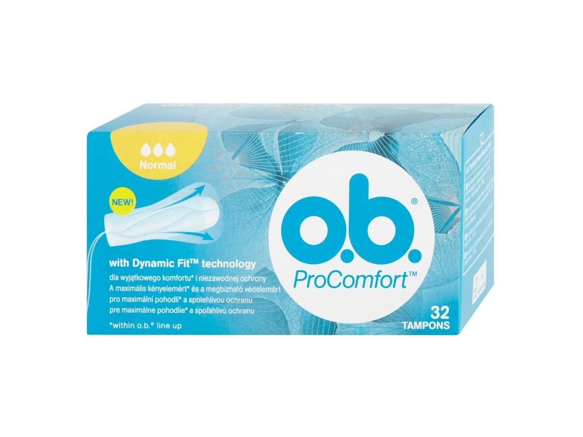 o.b. Tampóny ProComfort normal 1x32 ks