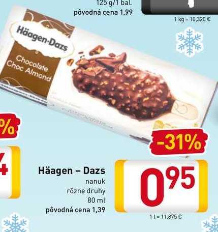 Häagen-Dazs  80 ml